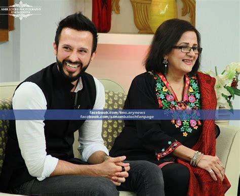 New Sahira sahira kazmi ali kazmi interviewed by sanam baloch on