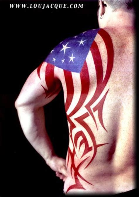 tribal american flag tattoo 50 patriotic tattoos ideas