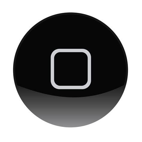 Homebutton Iphone New Home Button Iphone Itouch clipart iphone home button