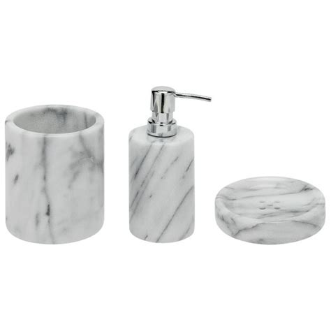 argos bathroom accesories buy heart of house bathroom accessory set marble at