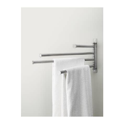 ikea luggage rack grundtal towel holder 4 bars stainless steel ikea