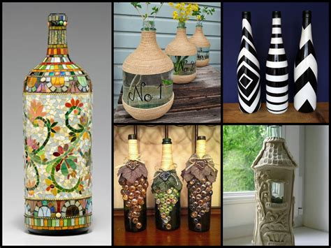 recycle home decor 50 beautiful bottle decorating ideas diy recycled room