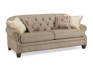 flexsteel living room fabric sofa 738631a flemington