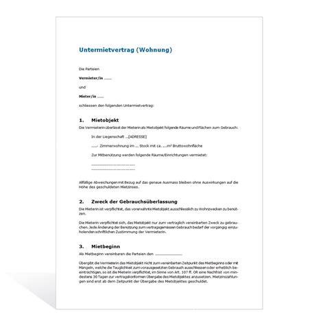 Mahnung Widerspruch Vorlage Widerspruch Gegen Die Nebenkostenabrechnung Untermietvertrag Fr Eine Wohnung