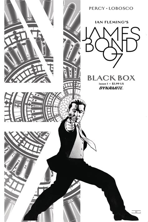james bond black box james bond black box 1 40 copy cassaday b w cover fresh comics