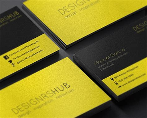 photoshop name card template 100 free business card templates designrfix