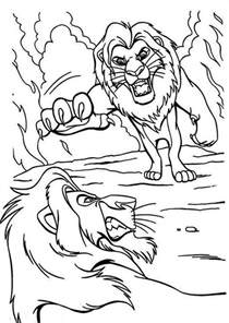 printable lion king coloring pages