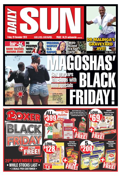 todays front page