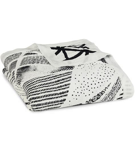 Aden And Anais Blankets by Aden Anais Silky Soft Blanket Midnight Stylo