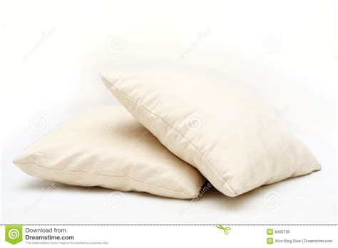 two pillows on bed stock photo image of domestic room pillow stock photo image 8493730