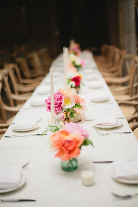 wedding table ideas no flowers mesas largas foro banquetes bodas mx