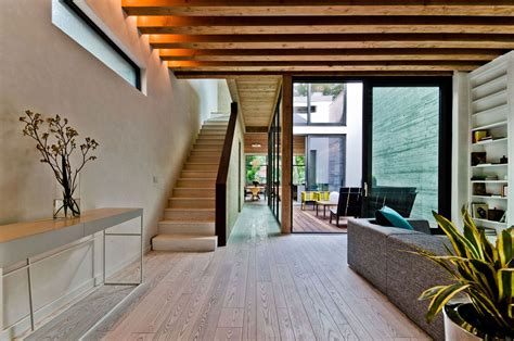 ecological house  montreal  contemporary exposed