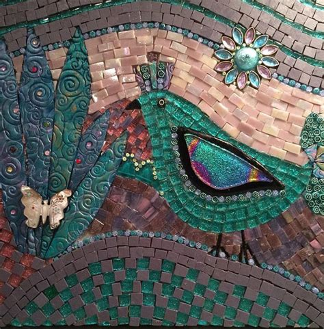 mosaic pattern birds 743 best birds feathers mosaics images on pinterest