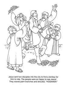 palm sunday coloring page coloring pages for palm sunday az coloring pages