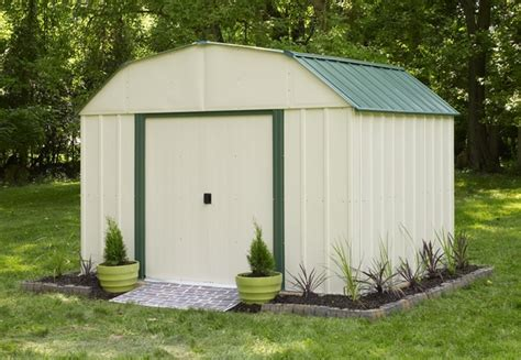 Vinyl Outdoor Sheds by Arrow Vinyl 10 X 14 Premium Outdoor Storage Shed