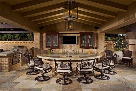 home and garden television design 101 outdoor kitchens outdoor kitchen bar chairs countertop