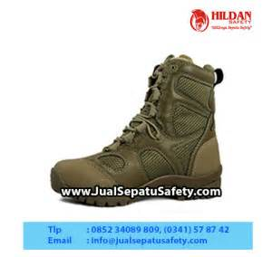 Sepatu Boots Tactical Army Outdoor Pdl Safety Ujung Besi Kickers Nmzs toko sepatu blackhawk tactical combat boots olive green