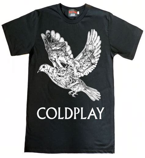 Kaostshirt Coldplay 1 coldplay ghost story bird tshirt size s to xl by wolfpaly on etsy 14 99 styles i want to
