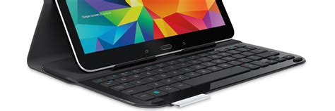 Keyboard Samsung Tab 4 ultrathin keyboard folio for samsung galaxy tab4 10 1 logitech