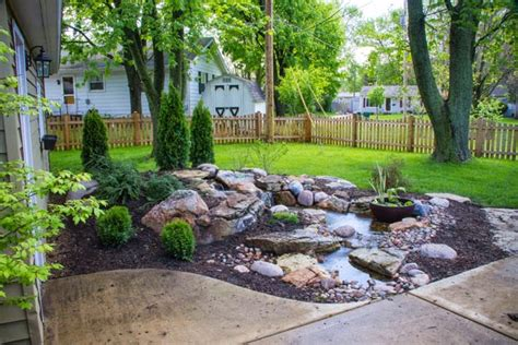 backyard pondless waterfalls aquascape your landscape