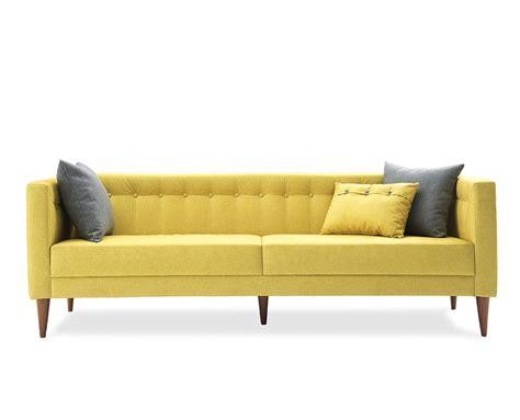 o sofa sof 225 fixo neon amarelo hometeka