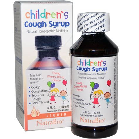 couch syrup natrabio children s cough syrup yummy cherry berry