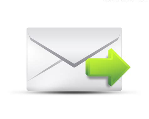 email icon psd envelope email icons set psdgraphics