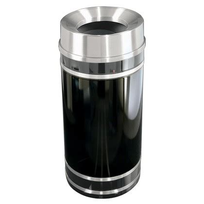 Monte Maxy monte carlo waste bin with funnel top trash cans warehouse