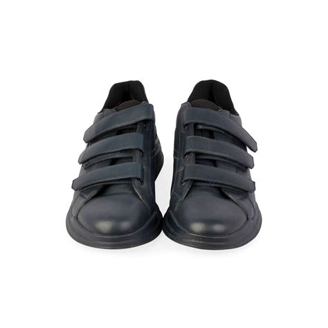 velcro sneaker prada velcro sneakers navy s 43 9 luxity