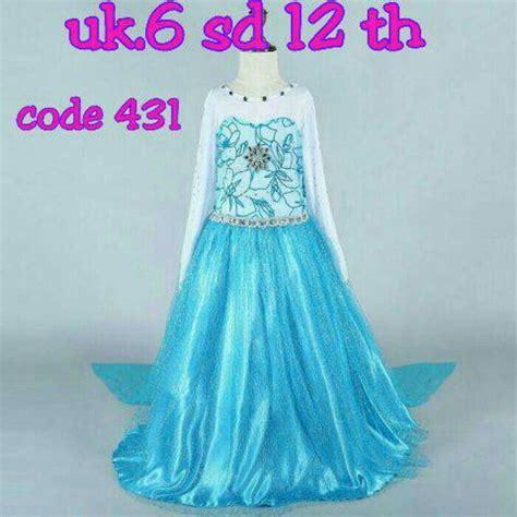 Baju Dress Frozen jual baju anak baju frozen dress frozen size besar jec