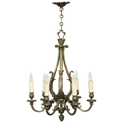 Antique Bronze Chandeliers Antique Louis Xv Bronze Chandelier At 1stdibs