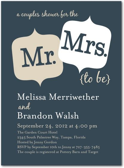 Couples Bridal Shower Invitations by 12 Dazzling Couples Bridal Shower Invitations