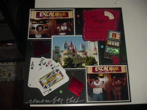 scrapbook layout with lots of pictures las vegas scrapbook com what is this scrap