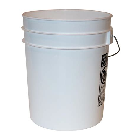 leaktite 2 gal 2gl white pail the home depot