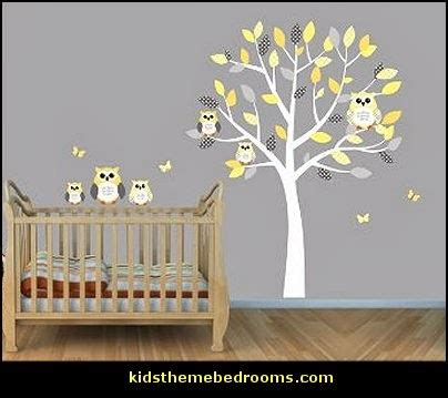 owl bedroom wall stickers decorating theme bedrooms maries manor owl theme bedroom decorating ideas owl