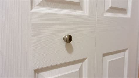 bifold closet door knobs  loosening youtube