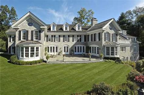 colonial mansion 13 million georgian colonial in greenwich ct homes of