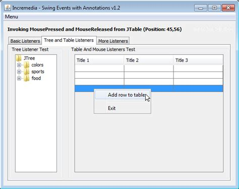java swing event swing events with annotations v1 2 codeproject