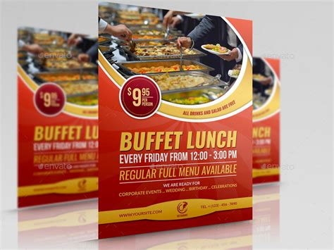 restaurant flyer template vol 11 by owpictures graphicriver