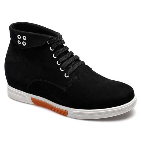 mens shoes high heel boots for s suede leather shoes for