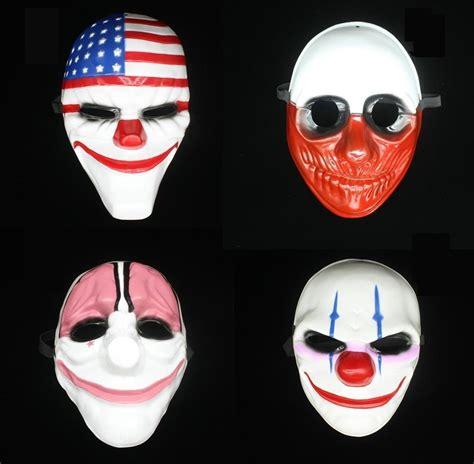 imagenes halloween mascaras mascaras de halloween de pay day sellingo