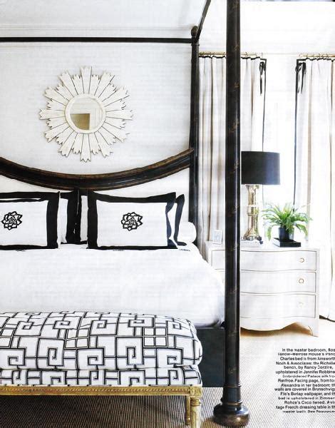 black canopy bed contemporary bedroom