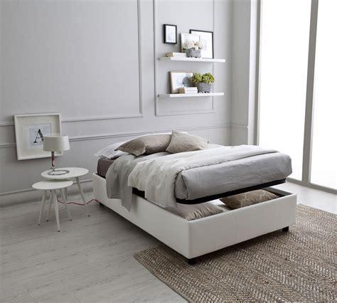 letto 1 piazza e mezzo letto sommier a una piazza e mezza 120 con contenitore