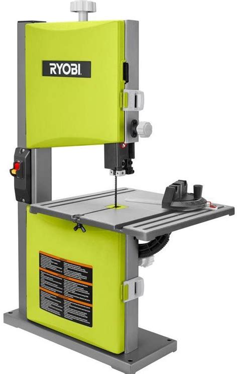table top band saw table top ryobi band saw tools in