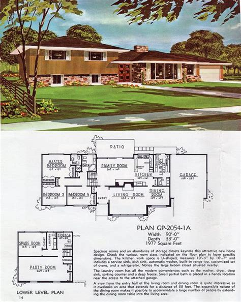 retro home plans 17 best ideas about vintage house plans on pinterest