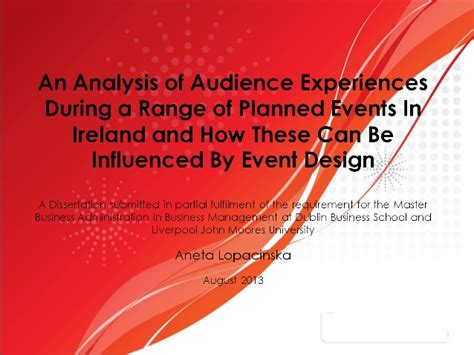 Mba Thesis Presentation Ppt by Mba Thesis Presentation