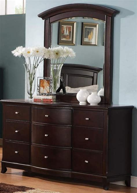 awesome interior dark cherry wood dresser intended