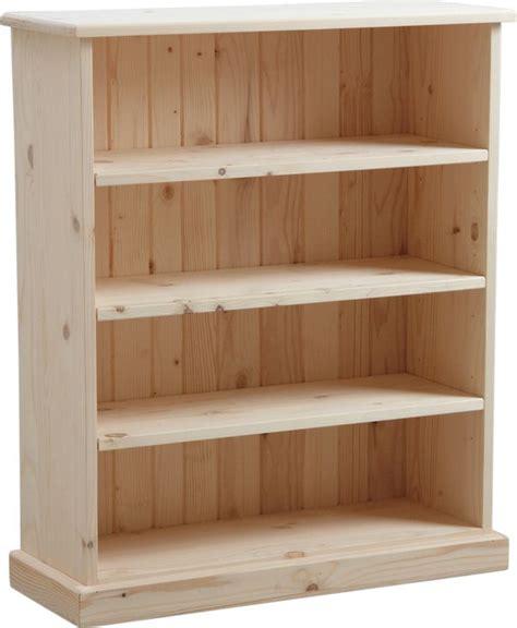 Supérieur Meuble A Chaussure En Bois #3: Meuble-biblioth%C3%A8que-bois-brut-blanc.jpg