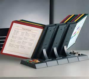 Desk Flip Chart Organizer Documate 30 Pocket Desk Organizer Desk Reference Organizers Ultimate Office