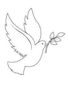 Dove Templates Free by Peace Dove Template Printable Www Imgkid The Image